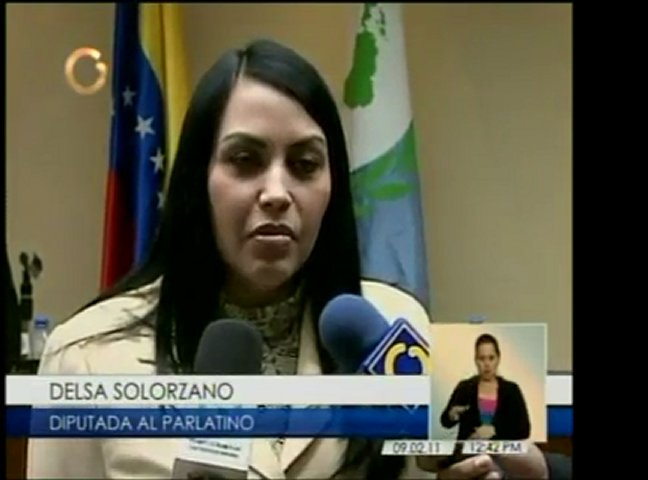 Vicepresidenta del Parlatino venezolano, Ana Elisa Osorio, y | PopScreen
