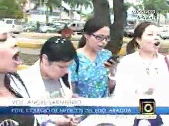 Marcha de Medicos Residentes del Hospital Central de Maracay | PopScreen