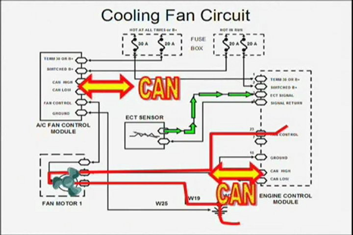 electric cooling fan wiring diagram popscreen