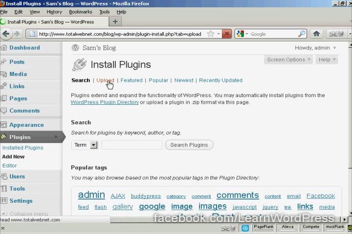 Cannot Install Plugin Wordpress Ftp