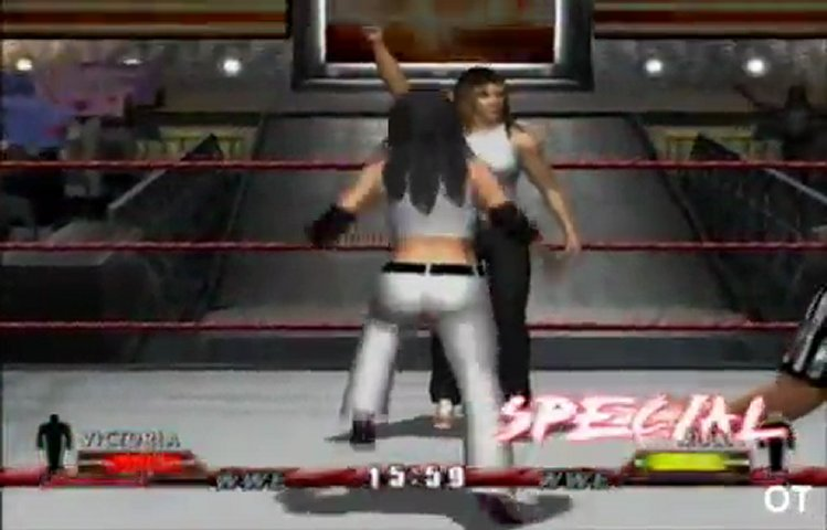 WWE Day Of Reckoning - Victoria vs Molly Holly In A Bra And Panties Match.