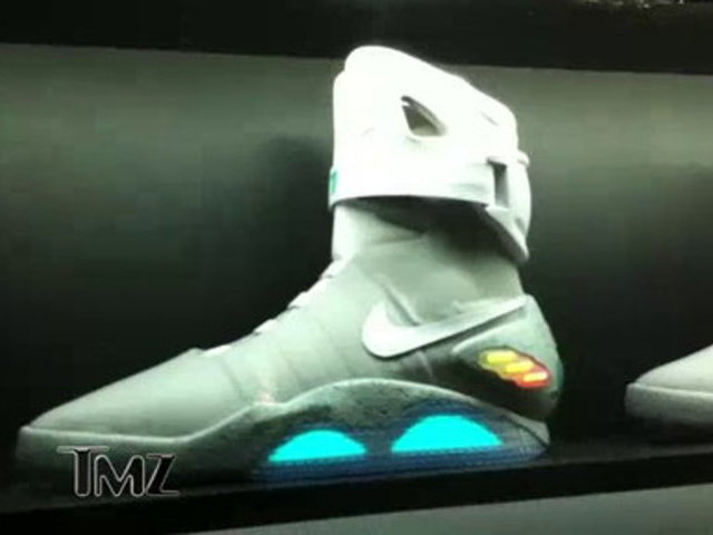 TMZ on TV _ Marty McFly Shoes Sell for BIG $$$ | PopScreen