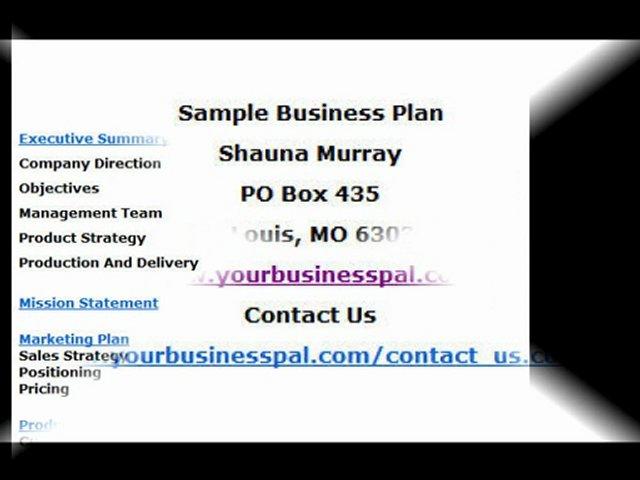small business plan sample popscreen. Black Bedroom Furniture Sets. Home Design Ideas