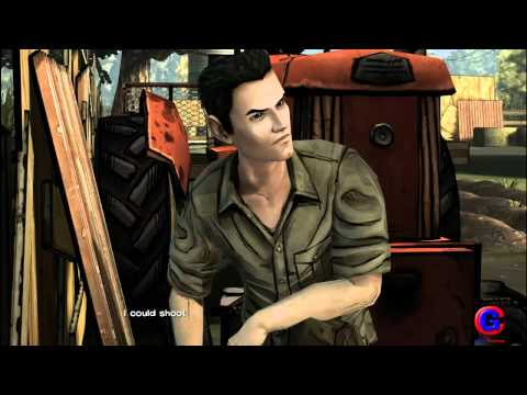 The Walking Dead: Episode 1 Walkthrough Part 3 - A New Day (Xbox 360,PS3,PC,MAC,iOS) | PopScreen