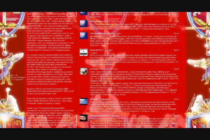 AMW Cult Yahsladynred/Yahsservant777 Team Lying Proof | PopScreen