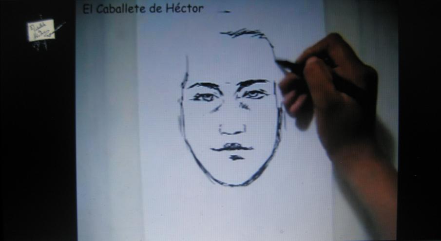 Dibujar cabeza en una hoja, Taller de Dibujo, Tips, El caballete de Héctor | PopScreen