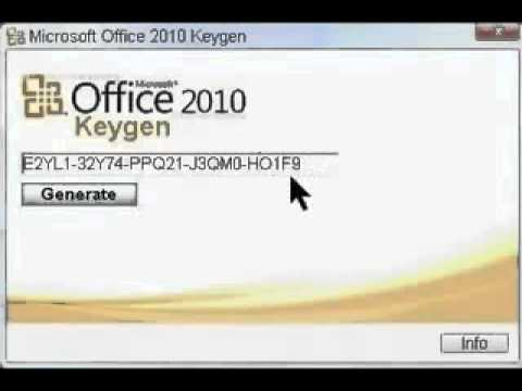 Watch Free Microsoft Office 2010 Product Key Office 2010 Product Keys.