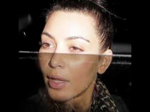 Kim Kardashian Without Makeup!! Ugly cry or Hot? Natural without hair