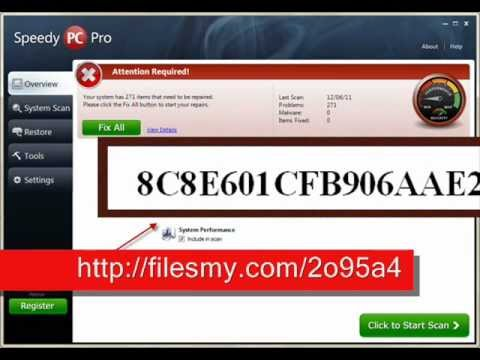 SpeedyPC Pro License Key - Registration Free | PopScreen