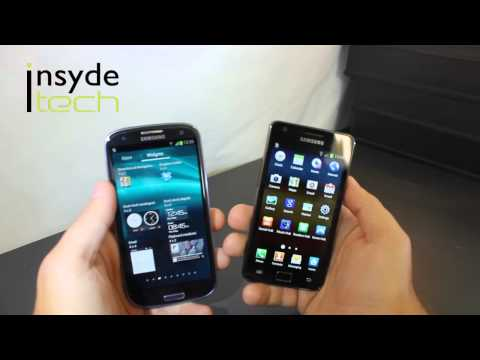 Comparison: Samsung Galaxy SIII vs Samsung Galaxy SII | PopScreen