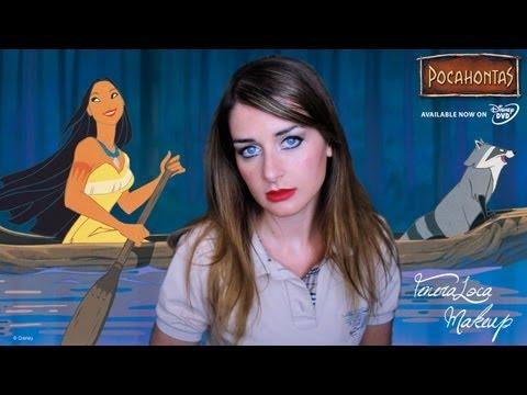 Pocahontas Makeup Tutorial 10