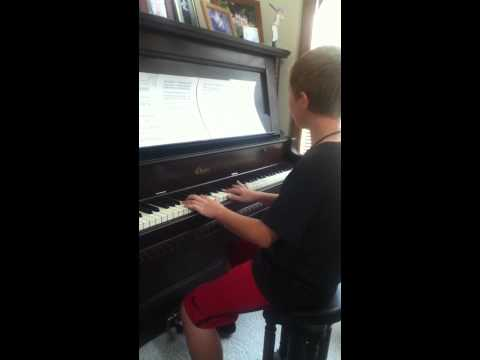 Josh Playing Someone Like You (Adele) on Piano | PopScreen
