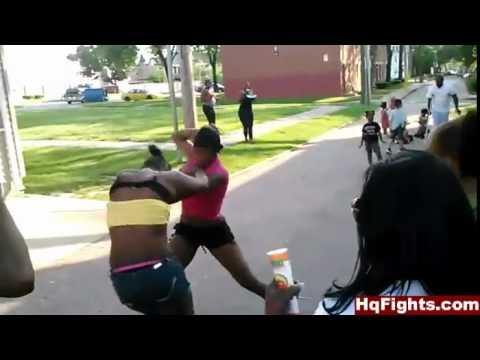 Black girl ghetto fights