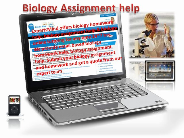 Where To Go Seeking Top Notch Biology Homework Help