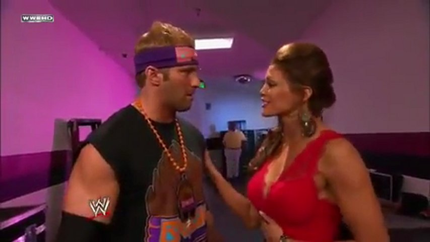 Zack Ryder and Mae Young Backstage Segment - WWE Raw 11 28 11 with Eve Torres | PopScreen