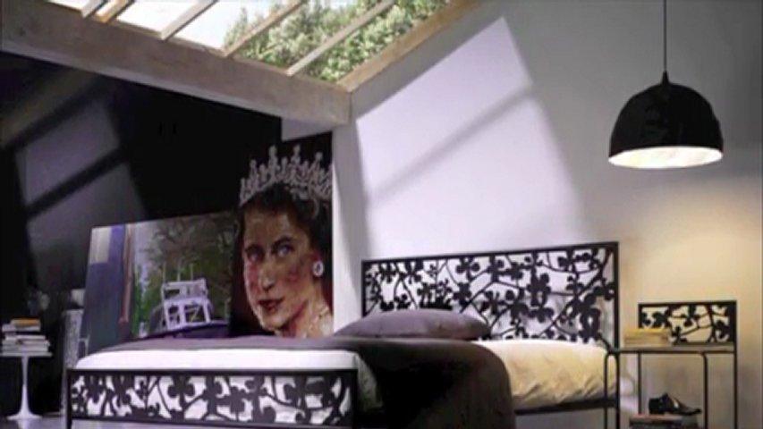 Cosatto letto in ferro battuto matrimoniale Flower in vendita su www.giwamaterassi.it  PopScreen