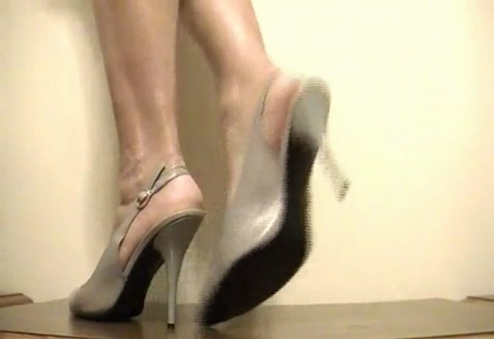 Sexy Tan high heels | PopScreen