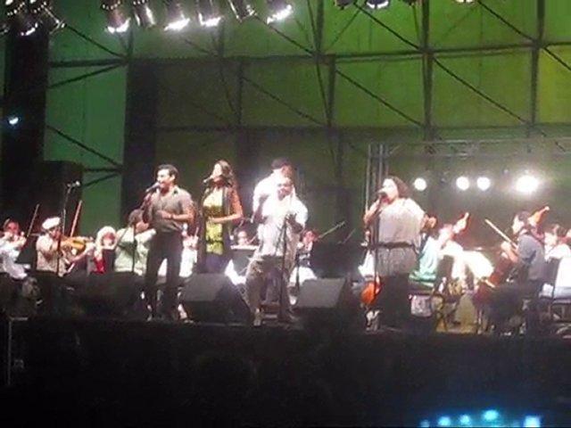 Nunca es Tarde para Amar gaita con la Sinfónica en Valencia | PopScreen