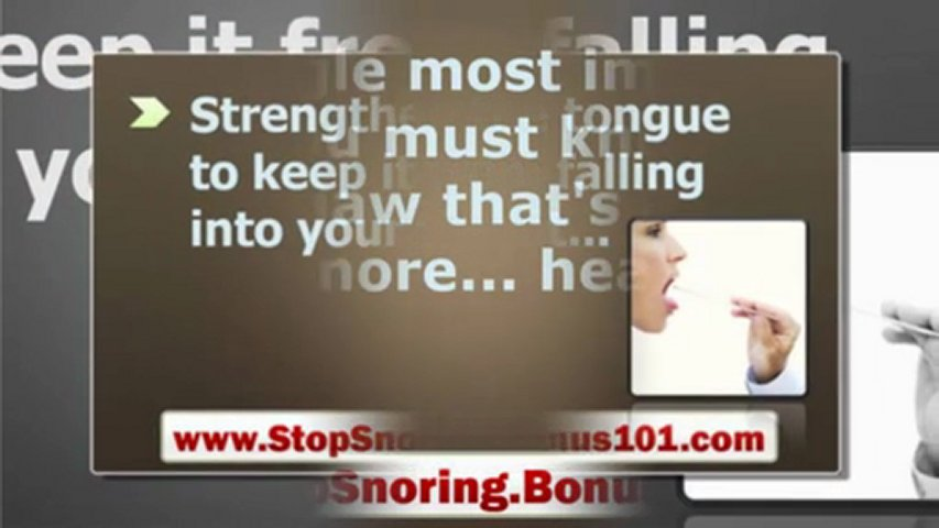 How do you stop snoring home remedies