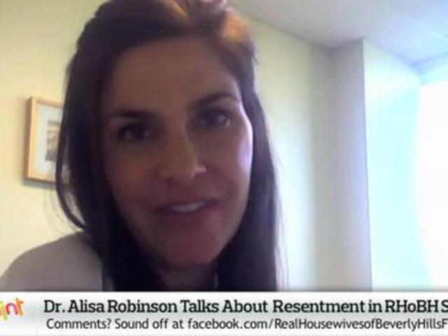 Dr. Alisa Robinson on Resentment in Real Housewives of Beverly Hills S2 | PopScreen