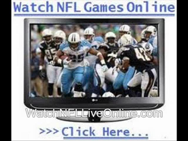 week 9 nfl stream live nfl games