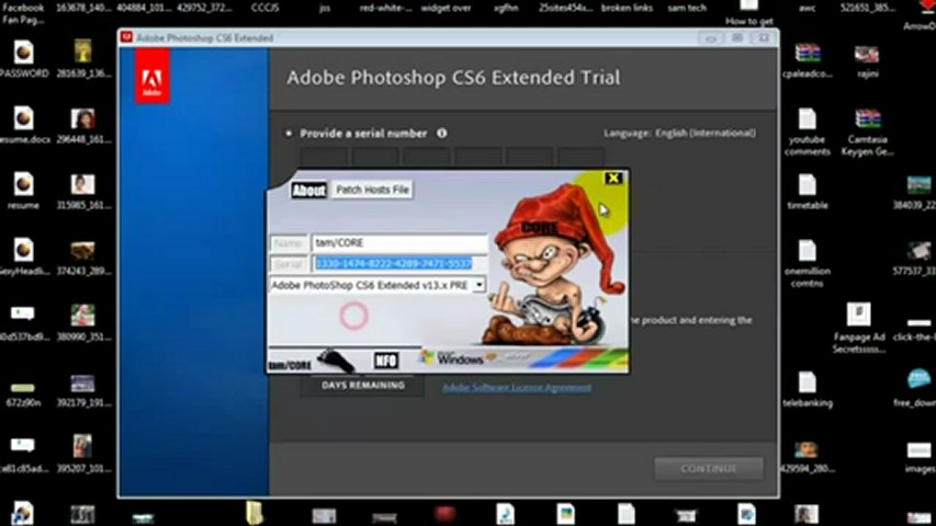 Photoshop CS6 Serial Number Generator * Keygen Crack * FREE Download | PopScreen